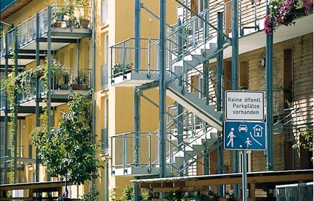 El barrio de Vauban en Freiburg – la vida mas allá delcoche