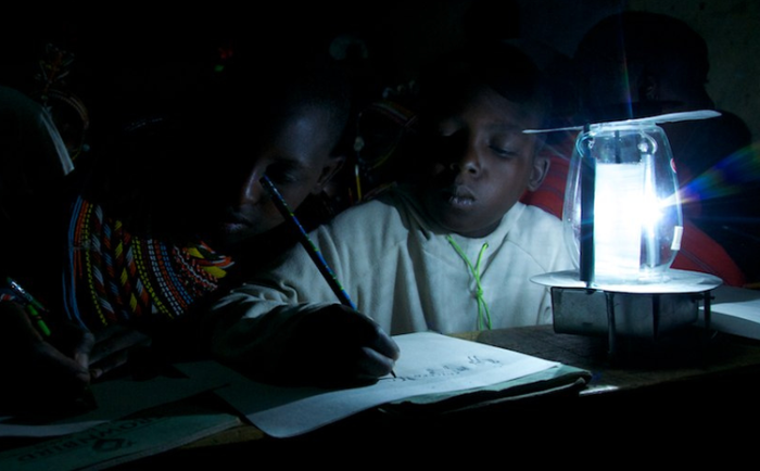 Changing lives with a lamp: Ewans Wadongo brilliant idea.
